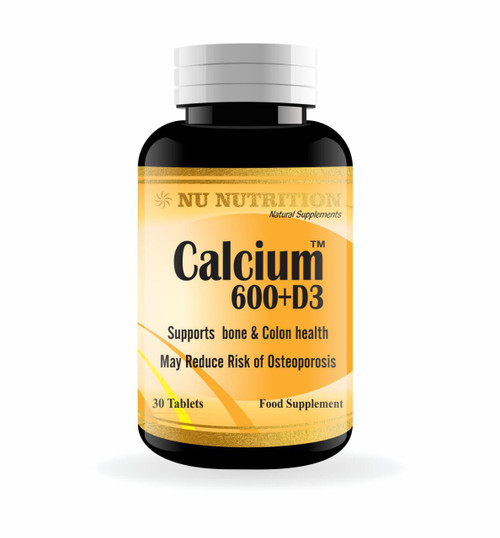 Nu Nutrition Calcium, Magnesium, and Zinc With D3 60 Tablets buy online in Pakistan
