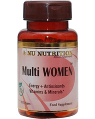 Nu Nutrition Multi Women 30 Tablets buy online in Pakistan