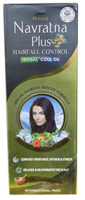 Himani Navratna Plus Hair Fall Control Herbal Cool Oil 200ml buy online in Pakistan