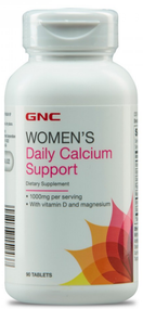 GNC Women's Daily Calcium Support 90 Tablets