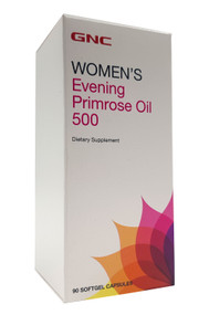 GNC Evening Primrose Oil 500mg (90 Softgels) Buy online in Pakistan on Saloni.pk