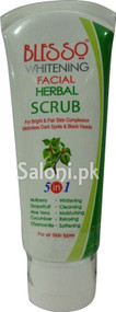 Blesso Whitening Facial Herbal Scrub (Front)
