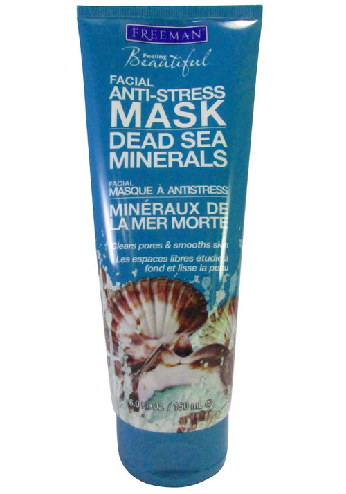 Freeman Dead Sea Minerals Facial Anti-Stress Mask (Front)