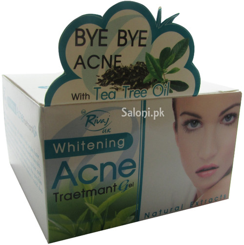 Buy Rivaj Uk Whitening Acne Traetmant Gel For Rs 410