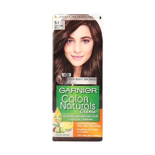 Garnier Color Naturals No 5.1 Light Ashy Brown. Lowest price on Saloni.Pk