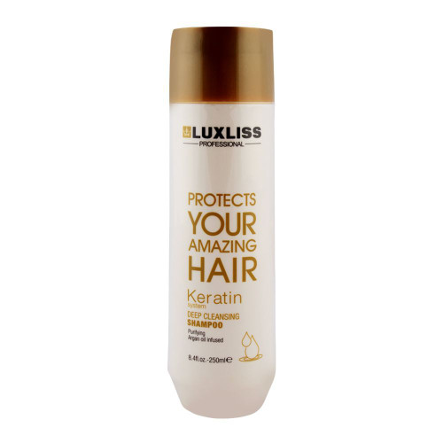 Luxliss Professional Keratin Deep Cleansing Shampoo 250ml buy online in Pakistan