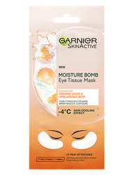 Garnier Skin Active Hydra Bomb Tissue Eye Mask Orange. Lowest price on Saloni.pk.