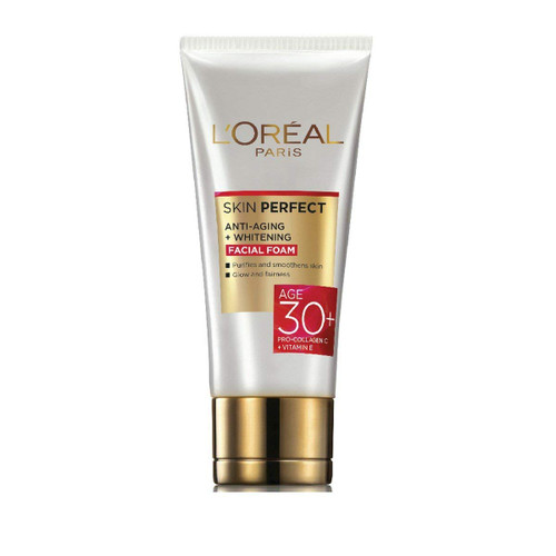 L'Oreal Skin Perfect 30 + Facial Foam 50 ml. Lowest price on Saloni.pk.