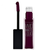 Maybelline Color Sensational Vivid Matte Lipstick Deepest Plum. Lowest price on Saloni.pk.