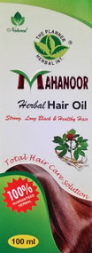 The Planner Herbal Mahanoor Herbal Hair Oil 100ml. Lowest price on Saloni.pk.