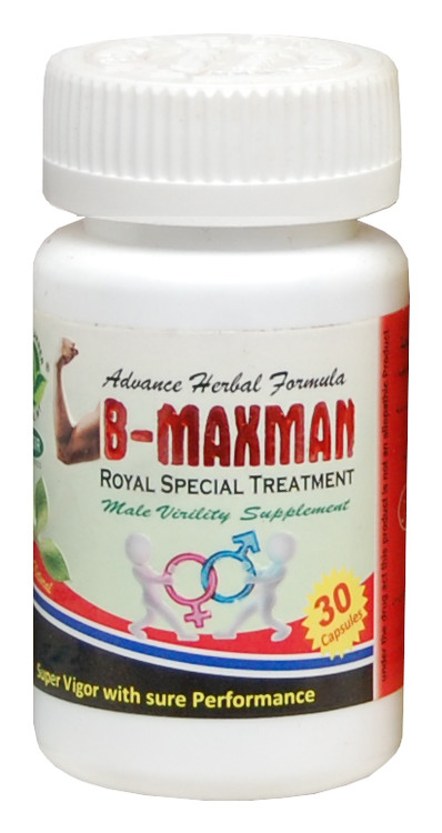 The Planner Herbal B-Maxman Royal Special Treatment 30 Capsules. Lowest price on Saloni.pk.