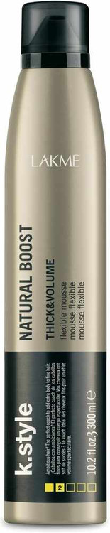 Lakme K.Style Natural Boost Thick & Volume Flexible Mousse 300ml buy online in Pakistan