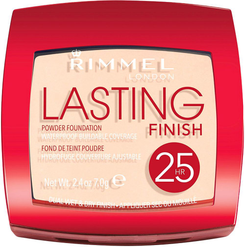 Rimmel London Lasting Finish 25H Powder Foundation. Lowest price on Saloni.pk.