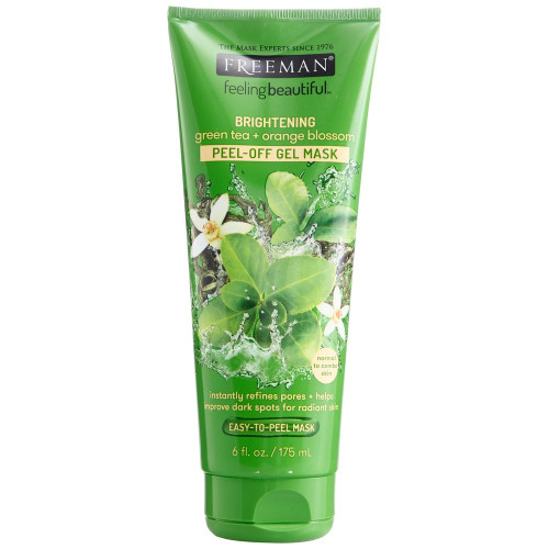 Freeman Brightening Green Tea + Orange Blossom Peel-Off Gel Mask 175ml