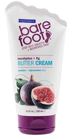 Freeman Bare Foot Butter Cream Eucalyptus + Fig 125ml