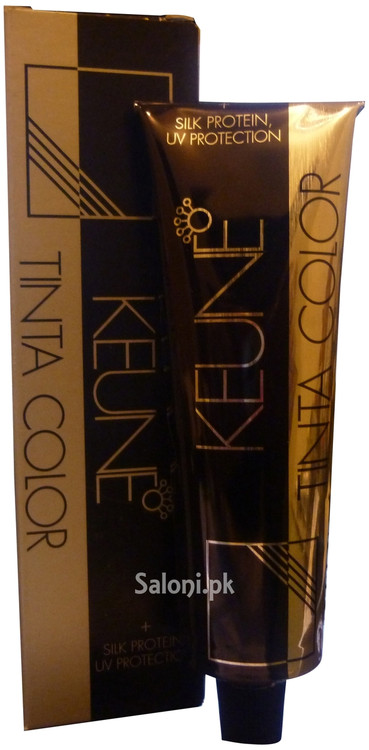 Keune Tinta Color 4.37 with Silk Protein and UV Protection