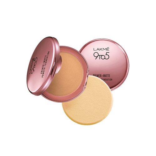 Lakme 9 to 5 Primer with Matte Powder Foundation Compact. Lowest price on Saloni.pk.