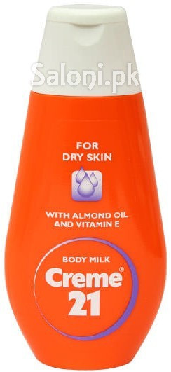 Creme 21 Body Milk with Almond Oil and Vitamin E