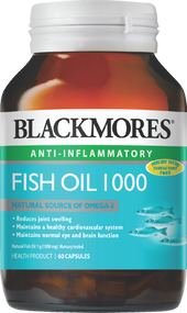 Blackmores Fish Oil 1000 mg 60 Capsules. Lowest price on Saloni.pk.