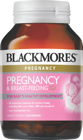 Blackmores Pregnancy & Breast-Feeding Gold 60 Tablets. Lowest price on Saloni.pk.