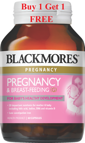 buy 1 get 1 free Blackmores Pregnancy & Breast-Feeding Gold 60 Tablets. Lowest price on Saloni.pk