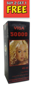 Viga 500000 Long Time Delay Spray For Men 45ML (Buy 2 Get 1 Free)