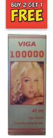 Viga 100000 Long Delay Spray For Men 45ML buy online imported men delay spray in pakistan original delay spray