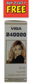 New Super  Viga 240000 Long Time Spray For Men  45 ML