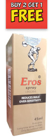 Eros Men Delay Spray 45ml (Buy 2 Get 1 Free)