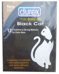 Durex Black Cat Extra Save Condoms 12 Pieces