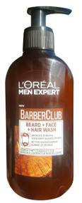 L'oreal Men Barber Club Beard + Face + Hair Wash 200ml buy online in pakistan