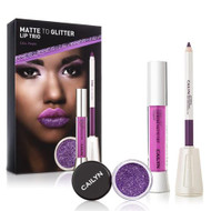 Cailyn Matte To Glitter Lip Trio Lilac Purple Lowest price on Saloni.pk