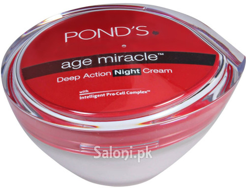 Pond's Age Miracle Deep Action Night Cream 50 Grams (