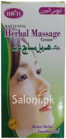 HB-11 Whitening Herbal Massage Cream (Front)