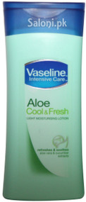 Vaseline Aloe Cool & Fresh Light Moisturizing Lotion