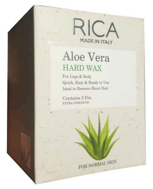 Rica Aloe Vera Hard Wax 3 Pieces