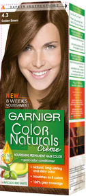 Garnier Color Naturals Hair Color Creme Golden Brown 4.3