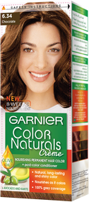 Garnier Color Naturals Hair Color Creme Chocolate 6.34