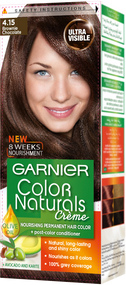 Garnier Color Naturals Hair Color Creme Brownie Chocolate 4.15
