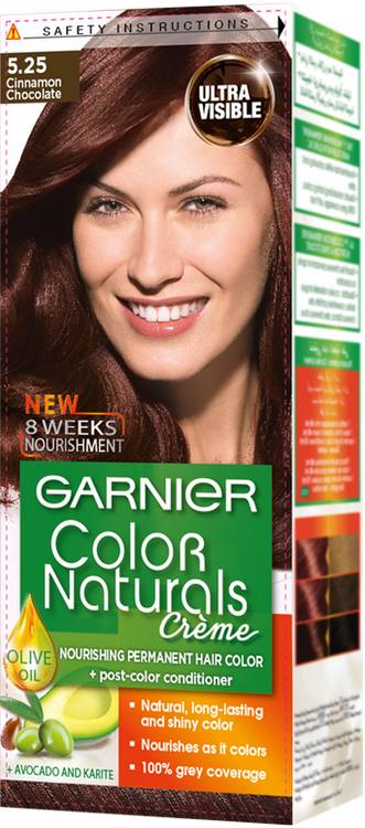 Garnier Color Naturals Hair Color Creme Cinnamon Chocolate 5.25