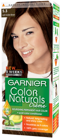 Garnier Color Naturals Hair Color Creme Light Golden Brown 5.3