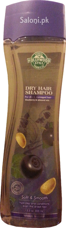 Hollywood Style Dry Hair Shampoo