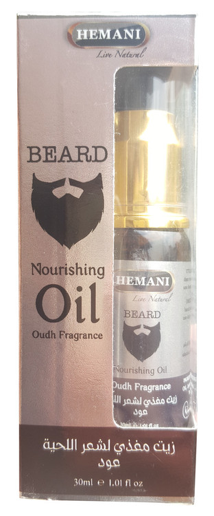 Hemani Beard Nourishing Oil 30ml (Oudh Fragrance) buy online in pakistan