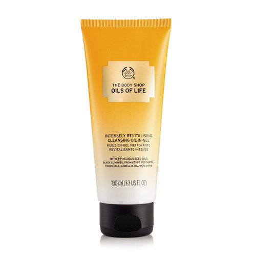 The Body Shop Oils of Life™ Intensely Revitalizing Cleansing Oil-In Gel 100 ML