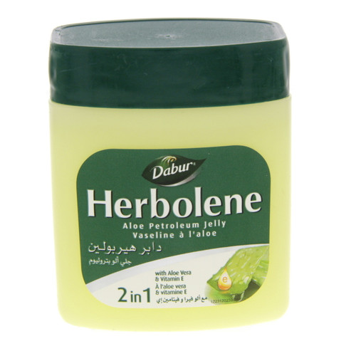 Dabur Herbolene 2 in 1 Petroleum Jelly 115 ML. Lowest price on Saloni.pk.
