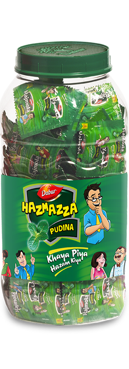 Dabur Hazzmaza Pudina Jar. Lowest price on Saloni.pk.