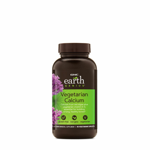 GNC Earth Genius Vegetarian Calcium 90 Cap. buy online in Pakistan