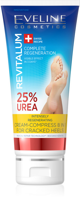 Eveline Cream Compress 8 in 1 For Cracked Heels. Lowest price on Saloni.pk.