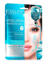 Eveline Sheet Mask Hyaluron Moisture Pack. Lowest price on Saloni.pk.