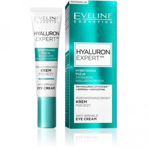 Eveline Hyaluron Expert Eye Cream 15 ML. Lowest price on Saloni.pk.